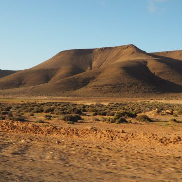 KM 4528 – vom Gebirge zum Atlantik – Irhoreïssene / Tantan Plage