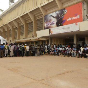 Banjul / Bakau – Versteigerung der Autos